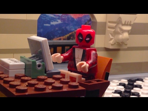 A Lego Deadpool Valentines Day