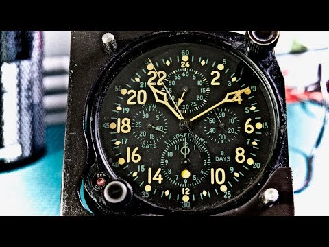 WWII Aircraft Clock E-37500 Overview