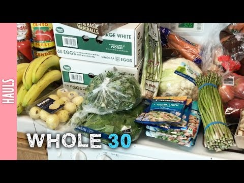 Whole 30 Monthly Haul - The290ss