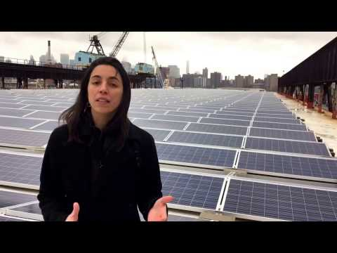 Clare Newman from Brooklyn Navy Yard in NYC discusses solar power
