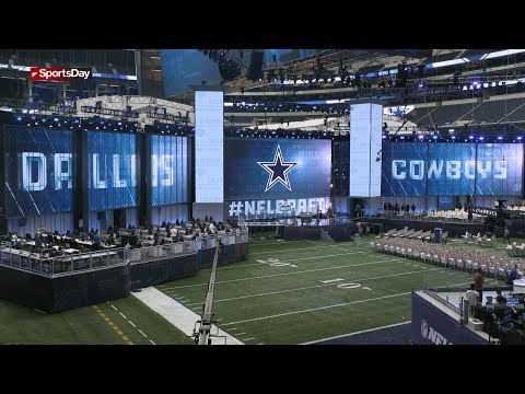 Get a sneak peek of the NFL Draft Theater at AT&T Stadium