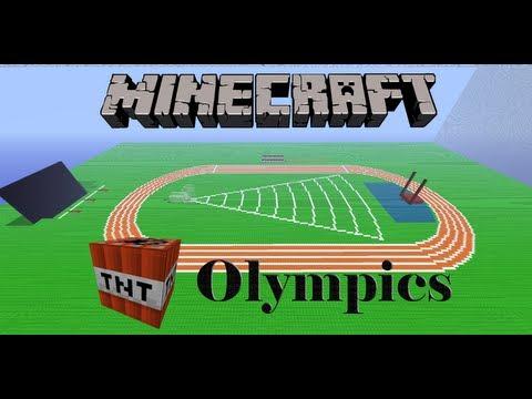 Minecraft TNT Olympics Episode 3: High Jump and Long Jump
