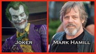Characters and Voice Actors - Batman: Arkham Knight