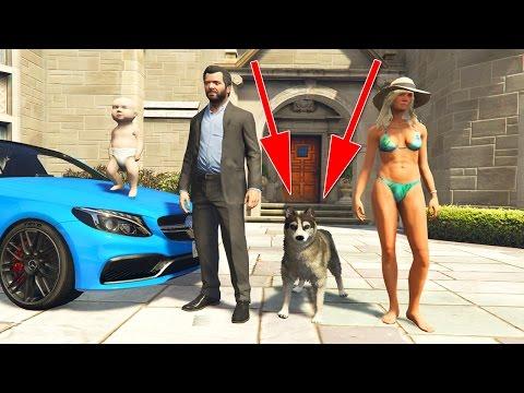 WIR KAUFEN EINEN HUND ! - GTA 5 REAL LIFE MOD #8