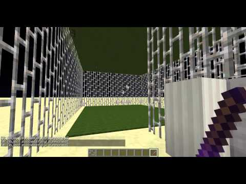 Minecraft Builds Episode Two! Batting Cages! And Tutorial! *Simple*