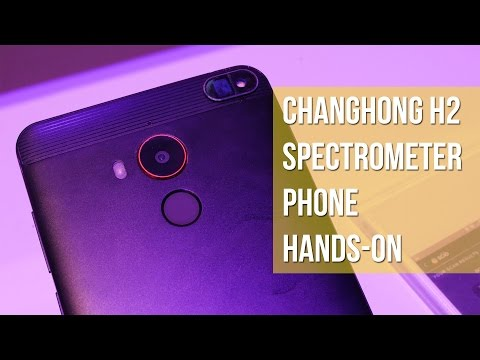Changhong H2 Spectrometer Phone Hands-on