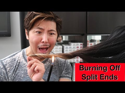 Burning Off Split Ends