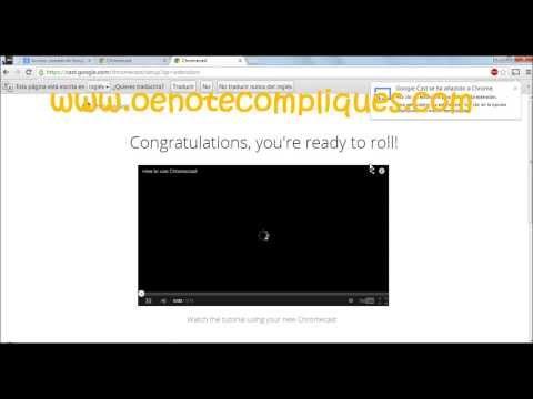 Configurar Google ChromeCast [HD]