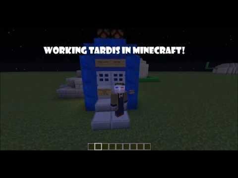 [Minecraft] WORKING TARDIS! NO MODS! [V1]