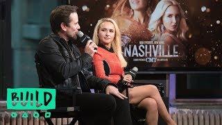 """Charles Esten And Hayden Panettiere Discuss """"Nashville"""""""