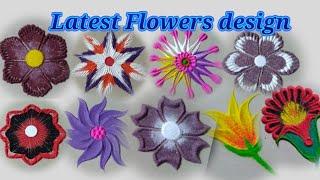 Beautiful different flowers design by Jyoti Raut Rangoli