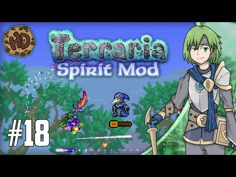 Terraria SPIRIT MOD Let's Play Part 18   THE END IS NEAR & PRIMALSTONE ARMOR!   1.3.5 PC