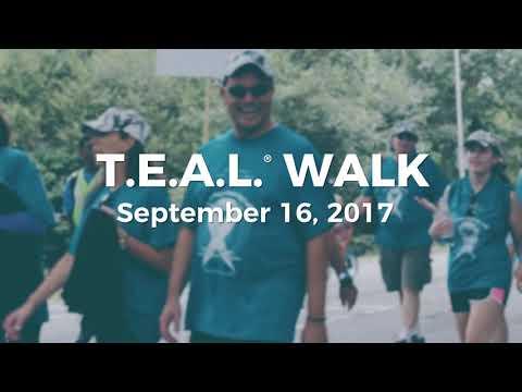 3rd Annual Whitesboro T.E.A.L.® Walk for Ovarian Cancer - Celebrity PSA