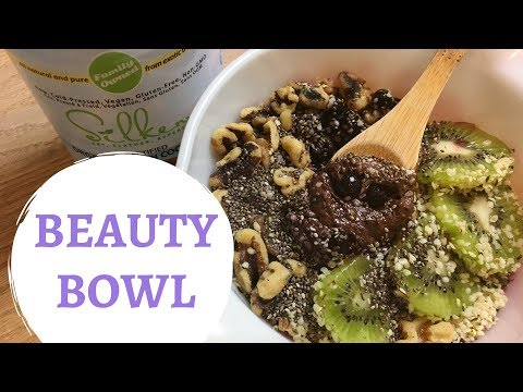 Coconut Oil Superfood Chocolate Beauty Bowl