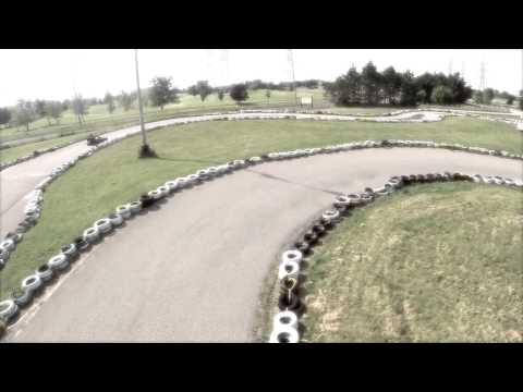Go Kart Racing at the Mini Indy - Aerial Tour