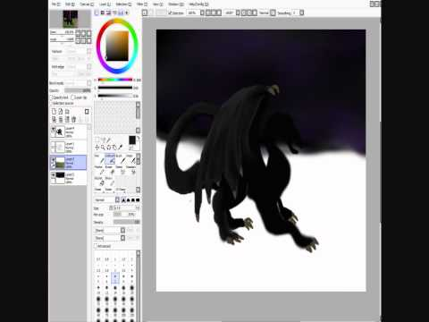 Minecraft Drawing- Ender Dragon