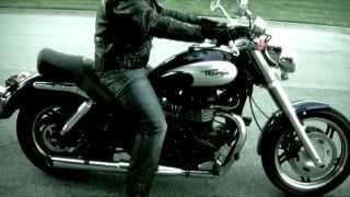Triumph Speedmaster 1st Ride Tor Exhausts Xiaomi Yi Pakvim