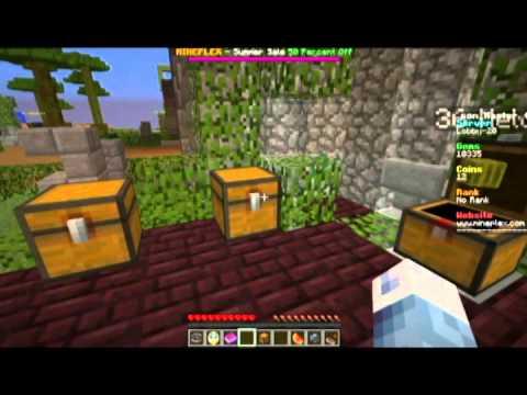 Open treasure chest - Mineplex ITA