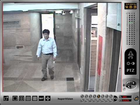Moving Object Detection & Automatic Tracking