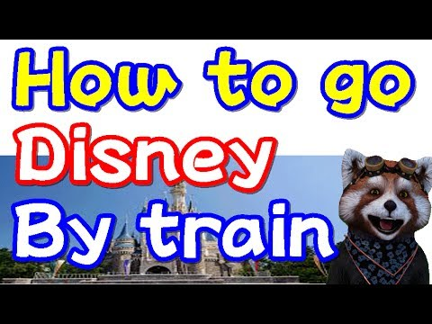 How to go to Tokyo Disney Resort by train to Maihama station【OMORONETA@CHANNEL】