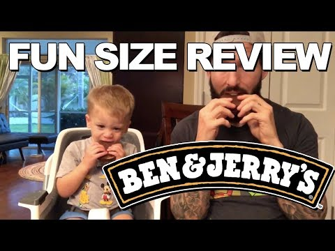 Fun Size Review: Ben & Jerry's Cherry Garcia Pint Slices