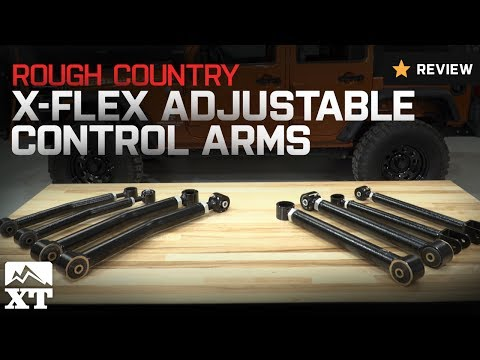 Jeep Wrangler Rough Country X-Flex Adjustable Control Arms (2007-2017 JK) Review