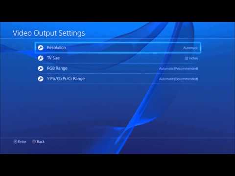 How to: Change Resolution On PS4