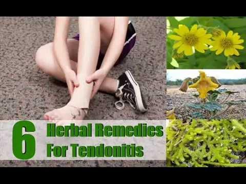 Top 6 Herbal Remedies For Tendonitis