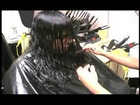 How To Cut Curly Hair Into Layers : Cutting the Front of Curly Hair