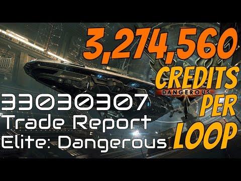 Elite: Dangerous - Trade Report 33030307