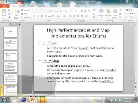 Java Enum Type