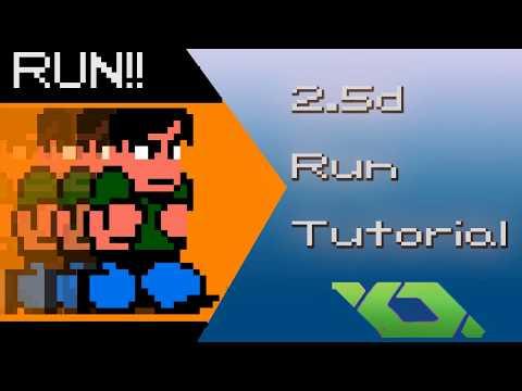 River city Ransom 2.5D running tutorial (part 1) Game Maker
