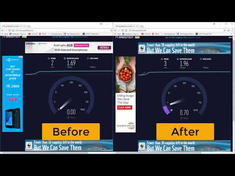 How to Speed Up Internet Connection | Boost Internet Speed using dns on Windows 10 PC