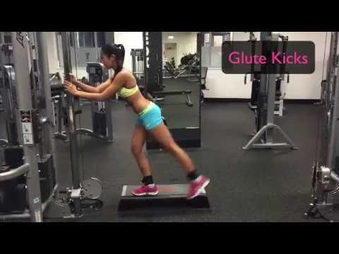 Abs, Legs & Butt Stronger Ankle Strap Workout