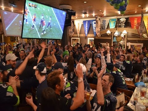SLEEPLESS IN SEATTLE: Seattle Fans Celebrate Super Bowl Win With Fireworks and Bonfire
