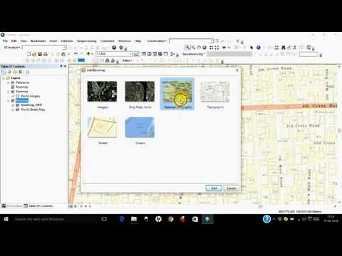 Adding Google Maps, Bing Maps, Open Street Maps, Oceanic Maps as Base Map in ArcGIS