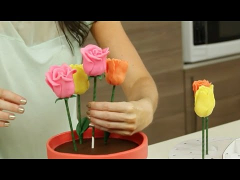 Mother's Day Flower Pot Cake - Most Satisfying
