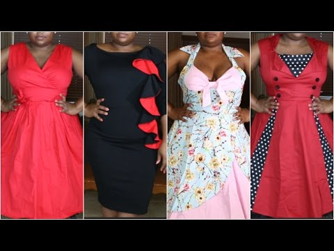 Affordable Vintage Style Dress Try On HAUL | Rose Gal