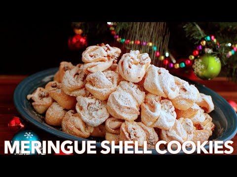 How To Make Perfect Meringue Shell Cookies - (Rakushki)