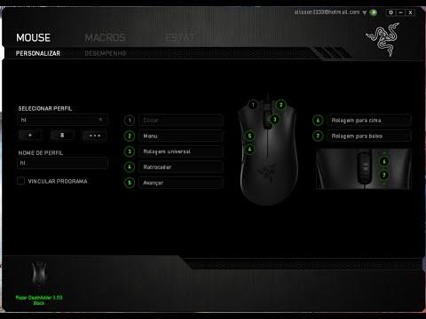 Configurando mouse pro CSGO (Deathadder,Kinzu e g400s)