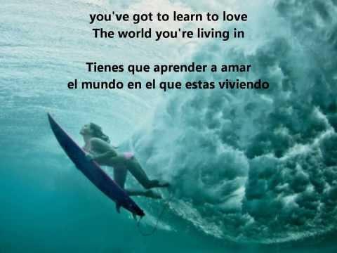 Learn to love - Bon Jovi (español e ingles )