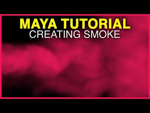 Maya Tutorial How To Create Smoke