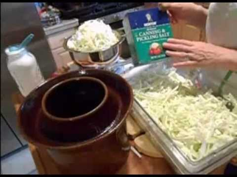 How to Make Authentic Fermented Sauerkraut (Free Book!)