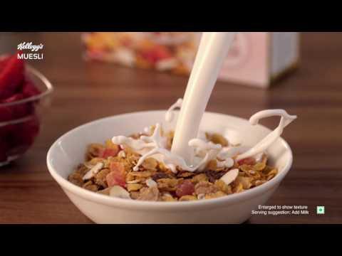 KELLOGG'S MUESLI - Multigrain Breakfast for the Unstoppables  (45sec)
