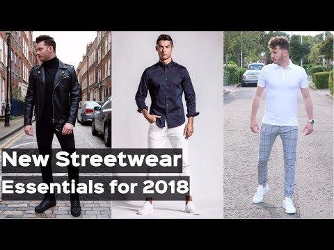 Men's Streetwear Essentials For Winter 2017 - Cristiano Ronaldo Denim Unboxing - Men's Fashion
