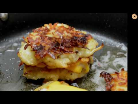How to Make Grilled Cheese Latkes