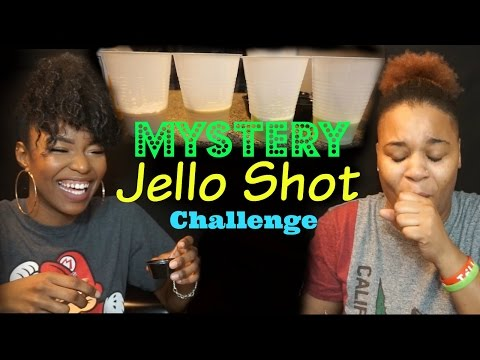 MYSTERY JELLO SHOT CHALLENGE - Pinky&Pash