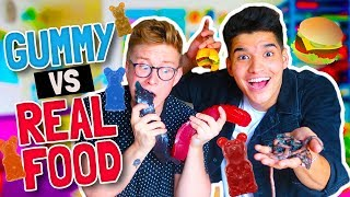 gummy vs real food