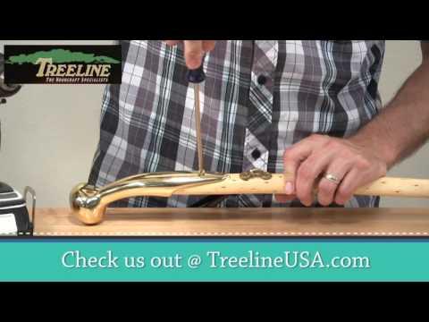 How to Assemble a Hame Top Cane Handle - TreelineUSA.com