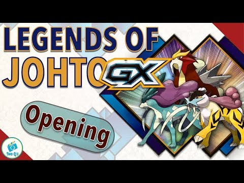 Legends of Johto GX Premium Collection Opening
